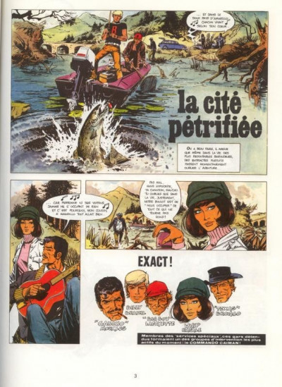 Page 1 Bruno Brazil tome 4 - la cité pétrifiée