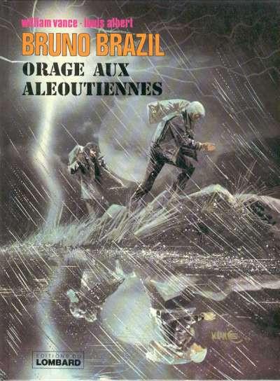 Couverture bruno brazil tome 8 - orage aux aleoutiennes
