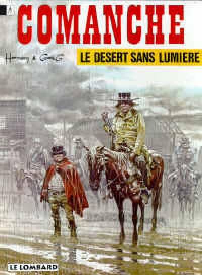 Couverture comanche tome 5 - le désert sans lumière