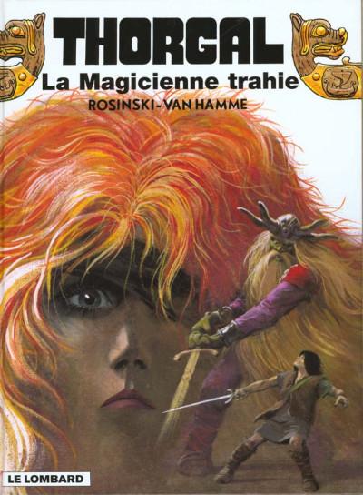 Couverture thorgal tome 1 - la magicienne trahie