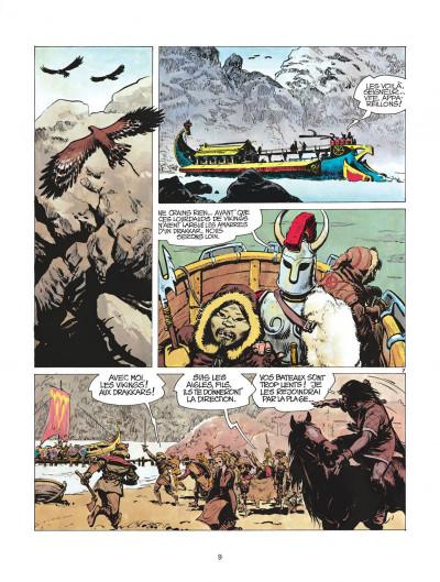 Page 9 thorgal tome 2 - l'ile des mers gelees