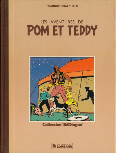 Couverture Pom et Teddy tome 1