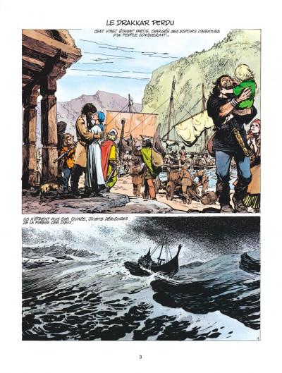 Page 3 thorgal tome 7 - l'enfant des etoiles
