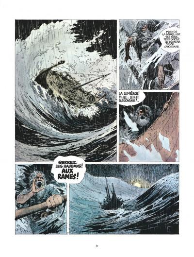 Page 9 thorgal tome 7 - l'enfant des etoiles