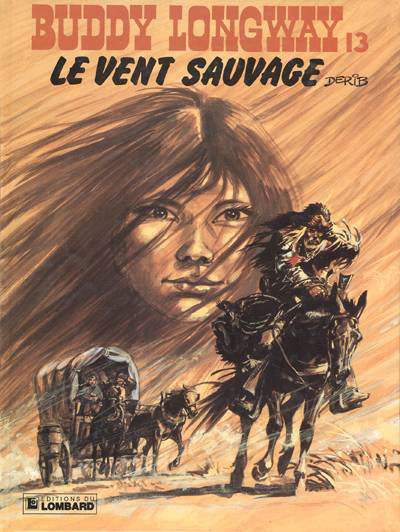 Couverture Buddy Longway tome 13 - le vent sauvage