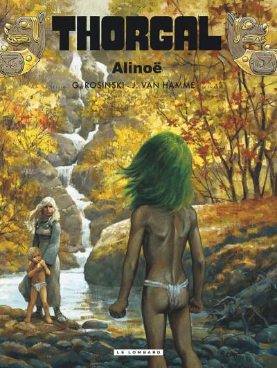 Couverture thorgal tome 8 - alinoë
