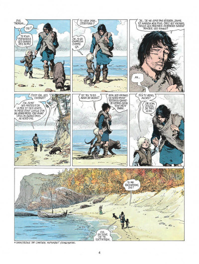 Page 4 thorgal tome 8 - alinoë