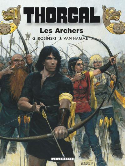 Couverture thorgal tome 9 - les archers