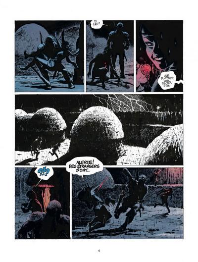Page 4 thorgal tome 9 - les archers