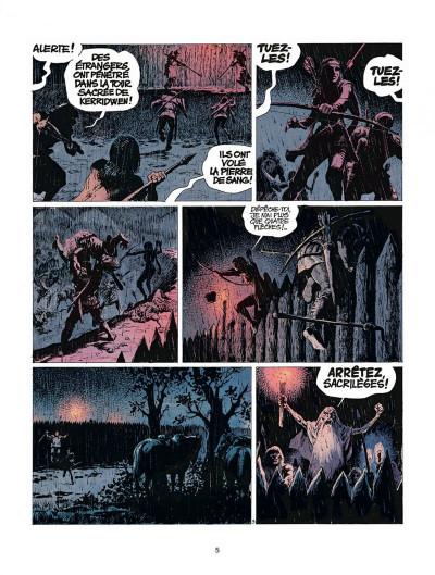 Page 5 thorgal tome 9 - les archers