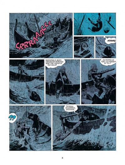 Page 8 thorgal tome 9 - les archers