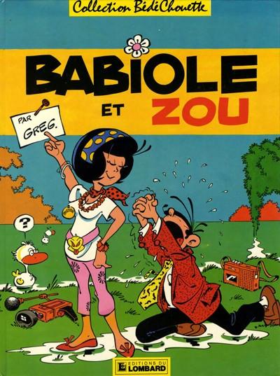 Couverture Babiole et Zou