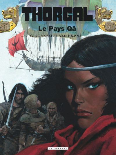Couverture thorgal tome 10 - le pays qa