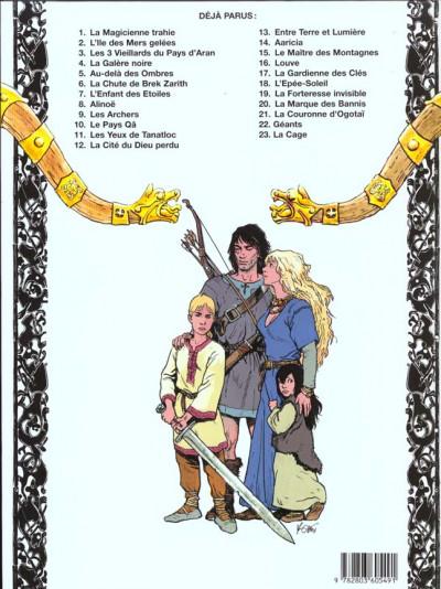 Dos thorgal tome 10 - le pays qa