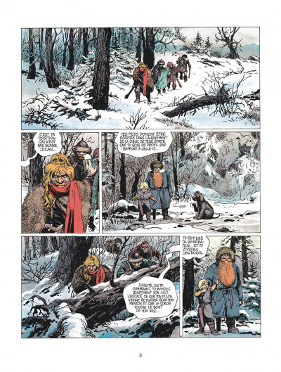 Page 3 thorgal tome 10 - le pays qa