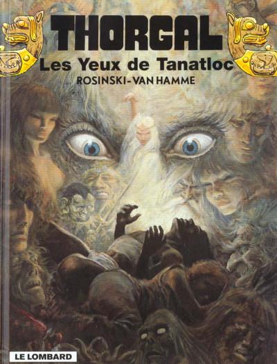 Couverture thorgal tome 11 - les yeux de tanatloc
