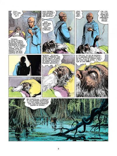 Page 8 thorgal tome 11 - les yeux de tanatloc