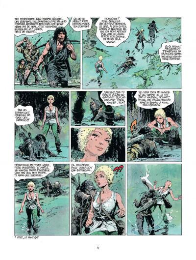 Page 9 thorgal tome 11 - les yeux de tanatloc