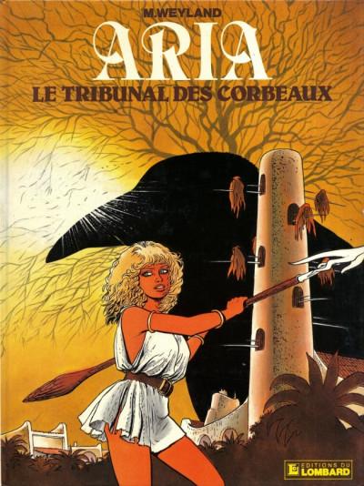 Couverture Aria tome 7 - le tribunal des corbeaux