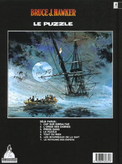 Dos bruce j.hawker tome 4 - le puzzle