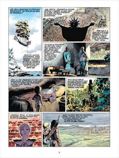 Page 3 thorgal tome 12 - la cite du dieu perdu
