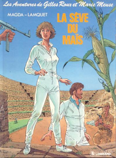 Couverture Gilles Roux et Marie Meuse tome 4