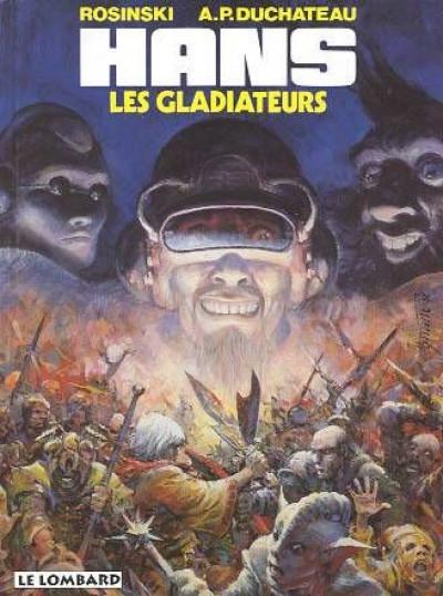 Couverture Hans tome 4 - les gladiateurs
