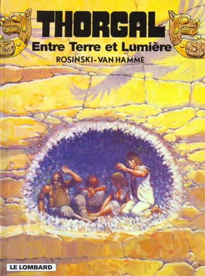 Couverture thorgal tome 13 - entre terre et lumiere