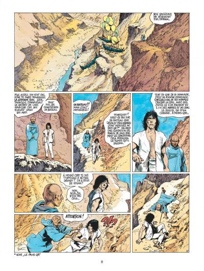 Page 8 thorgal tome 13 - entre terre et lumiere