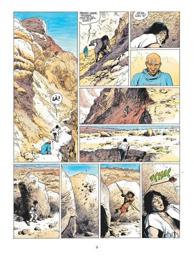 Page 9 thorgal tome 13 - entre terre et lumiere