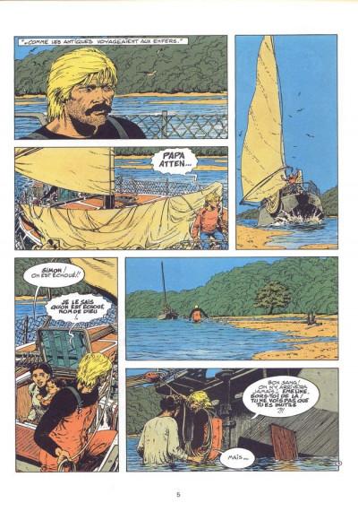 Page 1 Simon du Fleuve tome 7