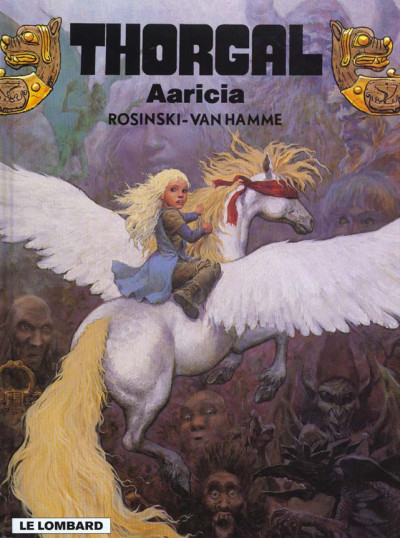 Couverture thorgal tome 14 - aaricia