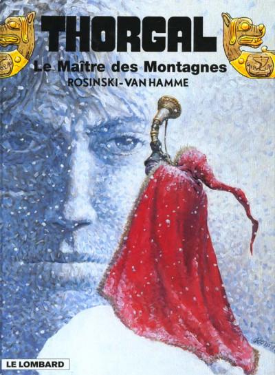 Couverture thorgal tome 15 - le maître des montagnes