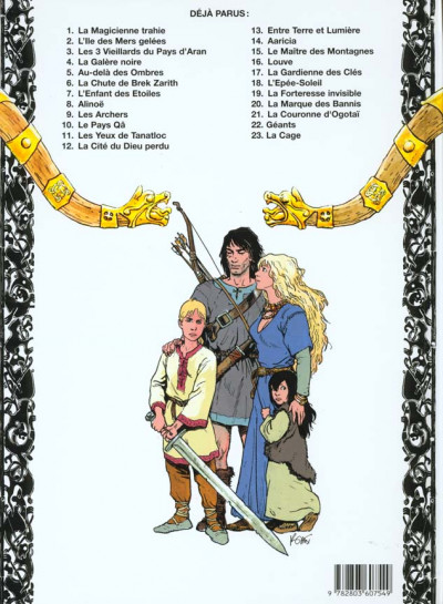 Dos thorgal tome 15 - le maître des montagnes