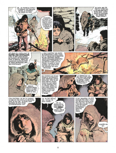Page 8 thorgal tome 15 - le maître des montagnes