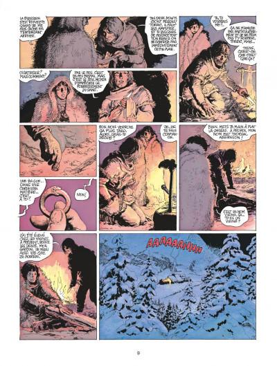 Page 9 thorgal tome 15 - le maître des montagnes