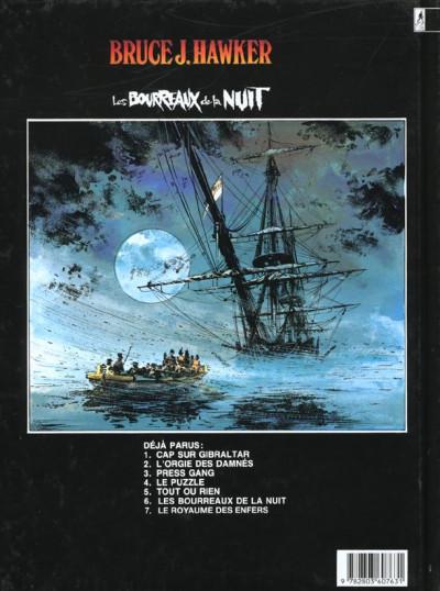 Dos bruce j.hawker tome 6 - les bourreaux de la nuit