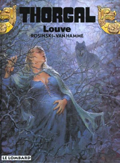 Couverture thorgal tome 16 - louve
