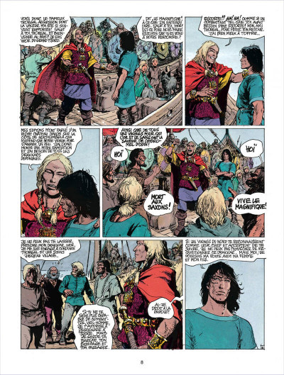 Page 8 thorgal tome 16 - louve