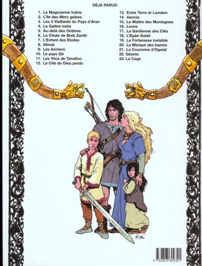 Dos thorgal tome 17 - la gardienne des clés