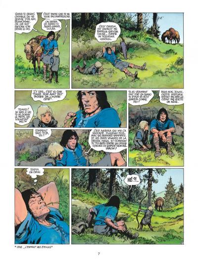 Page 7 thorgal tome 17 - la gardienne des clés