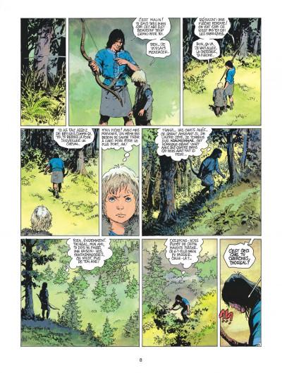 Page 8 thorgal tome 17 - la gardienne des clés