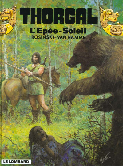 Couverture thorgal tome 18 - l'epee soleil