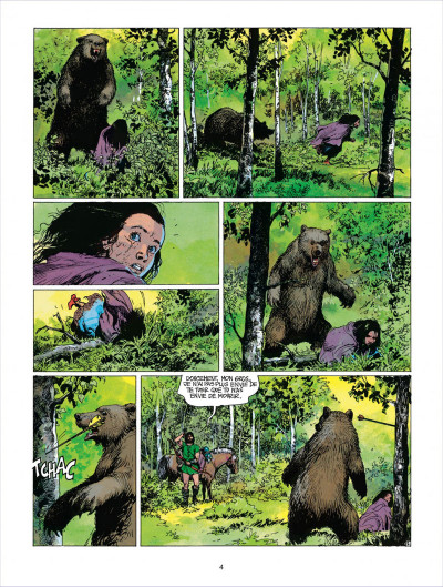 Page 4 thorgal tome 18 - l'epee soleil