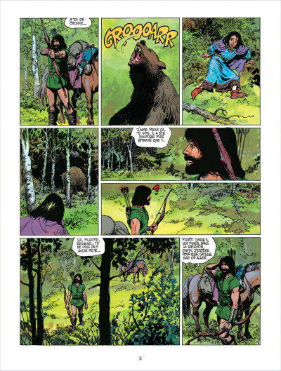 Page 5 thorgal tome 18 - l'epee soleil