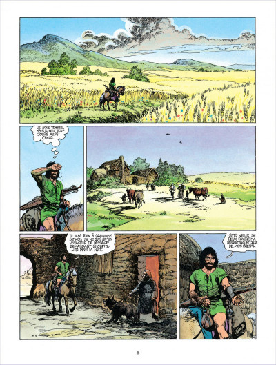 Page 6 thorgal tome 18 - l'epee soleil