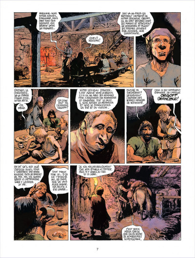 Page 7 thorgal tome 18 - l'epee soleil