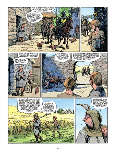 Page 9 thorgal tome 18 - l'epee soleil