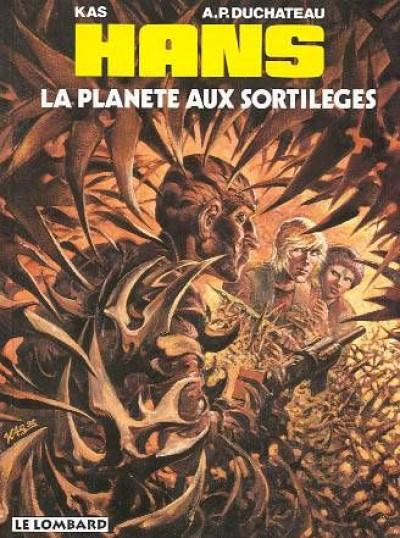 Couverture Hans tome 6 - la planète aux sortilèges
