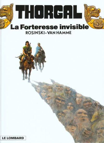 Couverture thorgal tome 19 - la forteresse invisible